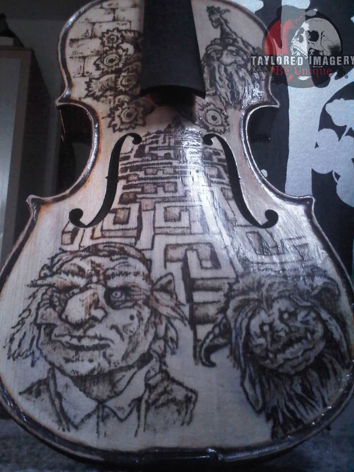 Labyrinth Violin Front